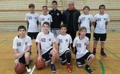 El equipo de basket ganador.