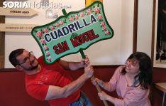 Cristian Calonge y Berta De Miguel son los jurados de la cuadrilla de San Miguel 2019